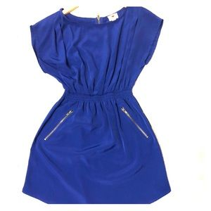 One clothing Royal Blue Dress with Pockets